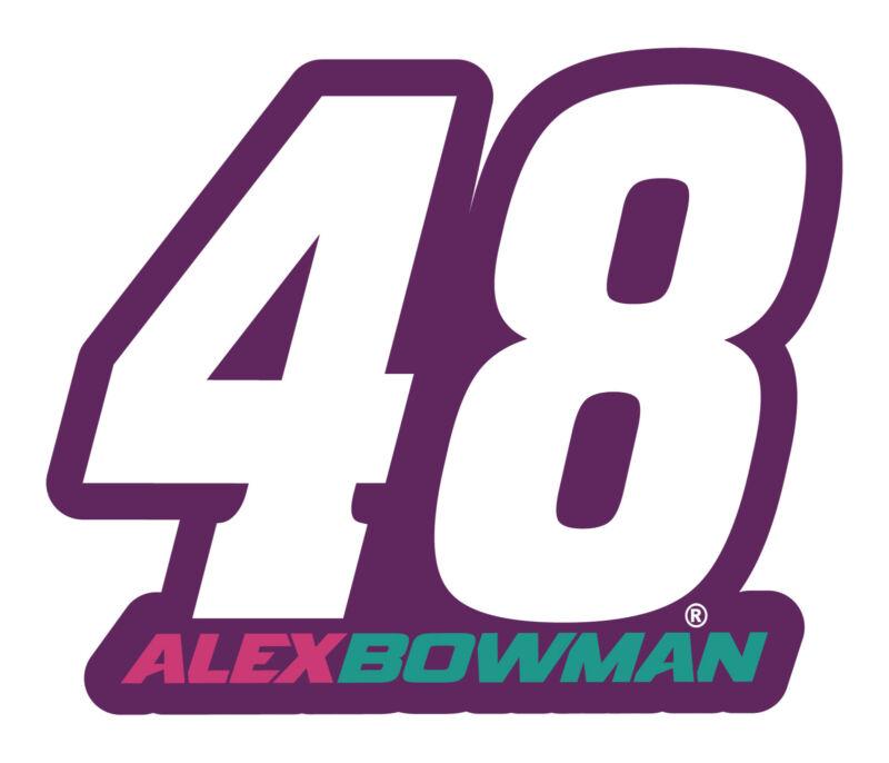 """Alex Bowman NASCAR #48 4"""" Laser Cut Deca"""
