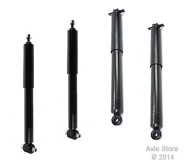 4 New Shocks Full Set Lifetime Warranty Free Shipping Fit Jeep Wrangler 4x4 Only