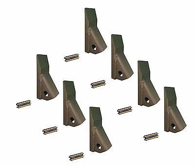 7 - Backhoe Skid Loader Mini Excavator 23 230 Fab Teeth W Pins 230pn