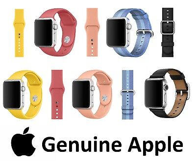 NEW Genuine Apple Watch Strap 38mm 42mm Modern Leather Sport Band Woven Nylon