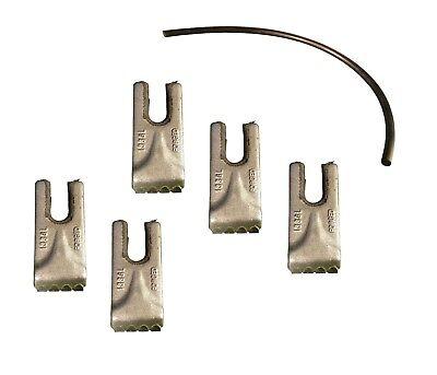 5- Pengo Carbide Auger Teeth W Rubber Quick Lock- Cs Ag Aggressor- 140016