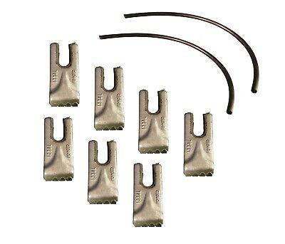 7- Pengo Carbide Auger Teeth W Rubber Quick Lock- Cs Ag Aggressor- 140016