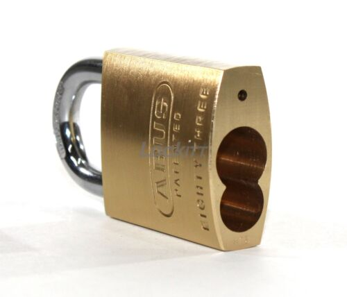 ABUS 83/45 Brass 83 Series Padlock Without Cylinder