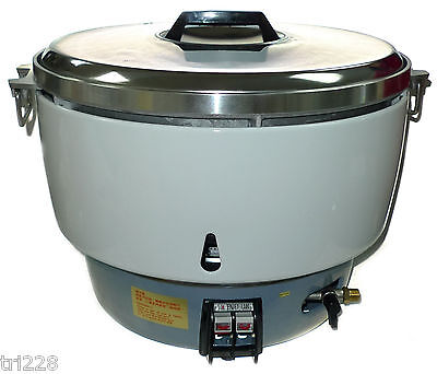 New Huei Lp Gas Commercial Rice Cooker 50 Cups Propane