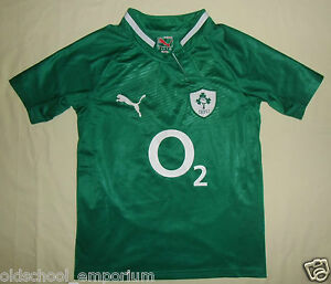 Ireland (IRFU) / 2011-2013 Home - PUMA - JUNIOR Rugby Shirt / Jersey. 10y, 140cm - <span itemprop=availableAtOrFrom>Poland, Polska</span> - I can accept returns if the item turns out to be faulty or/and does not match the description. In this case, I will refund the full cost of the item. Moreover, if you simply want to return the ite - Poland, Polska