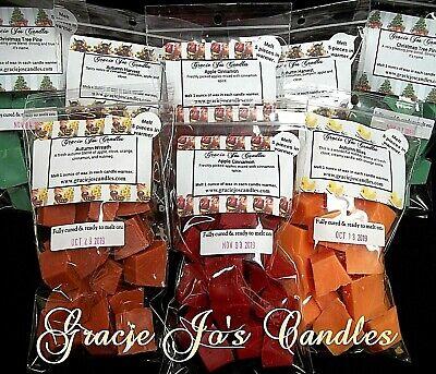 100 Bulk Candle Sale Wax Tarts Melts Chunks Crumbles Chips C