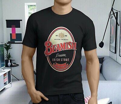 New Popular Beamish Irish Stout Beer Men's Black T-Shirt Size S-3XL ()