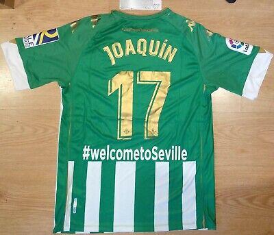 Camiseta Joaquín Real Betis 2020-2021 Nueva Shirt New BNWT Trikot Maillot Maglia
