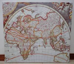 Vintage world map antiques art collectables gumtree vintage world map antiques art collectables gumtree australia free local classifieds gumiabroncs Choice Image