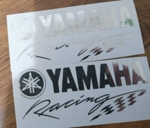 +Yamaha+Racing+decals%2Fstickers+2+%28+a+pair%29+in+chrome%2C++++other+colours+available