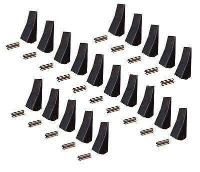 20 Backhoe Skid Mini Ex Bucket Teeth W Pins - 23 230 230sp D51750 Tf23d