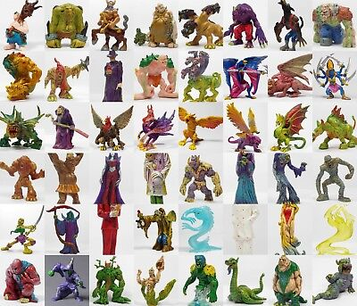 Monster In My Pocket - 2nd Gen 2006 - Mini Figures - Mythical Fantasy Creatures
