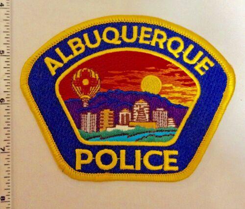 Albuquerque New Mexico Police Shoulder Patch New