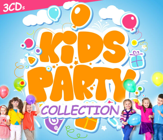 CD Kids Party Collection von Various Artists   3CDs