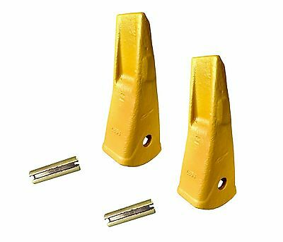 2 - Volvo Champion Ateco Style Ripper Teeth W Flex Pins - 9937 3868