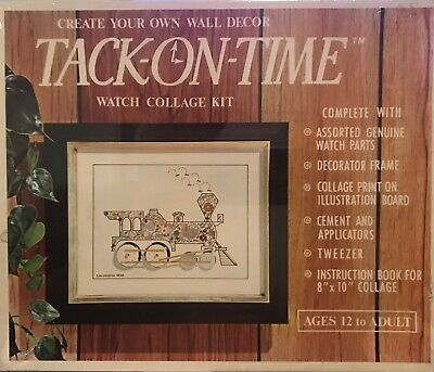 TACK-ON-TIME WATCH COLLAGE KIT
