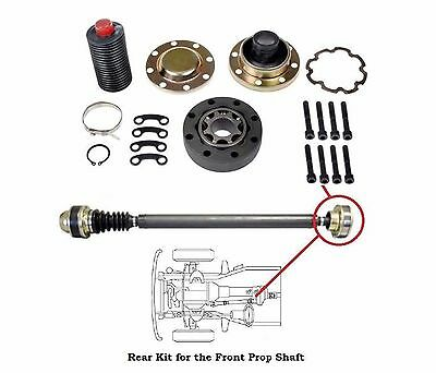 Joint Repair (Jeep Wrangler 4x4 Driveshaft Propeller Shaft Rear CV Joint Repair Kit Free)