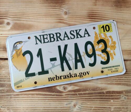 USA Nummernschild/Kennzeichen/license plate/US car/Harley/Deco *Nebraska*