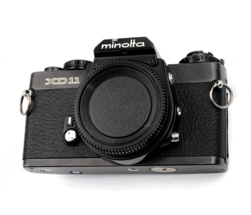 Minolta XD 11 Replacement Cover - Laser Cut Genuine Leather