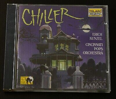 Halloween Horror Music Cd (Chiller - Horror, Halloween Music CD - Twilight Zone, Poltergeist,)