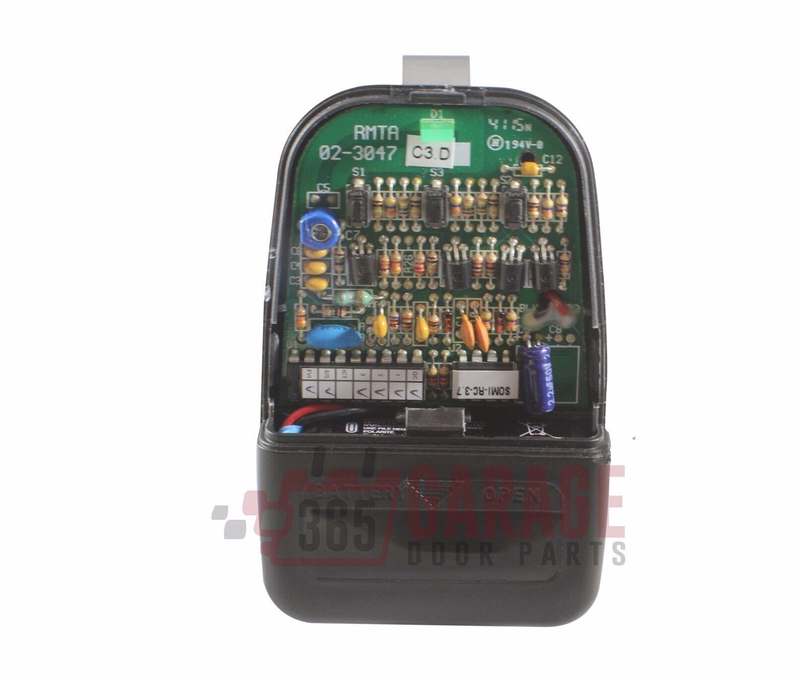 Wayne Dalton 309884 3910 3 Button Visor Remote Control 303