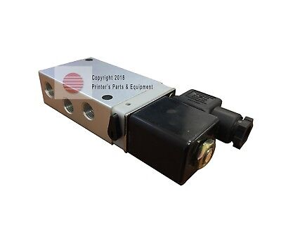 Cylinder Valve 52 Way Solenoid 220 V Offset Printing Parts