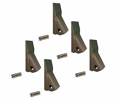 5 - Backhoe Skid Loader Mini Excavator 23 230 Fab Teeth W Pins 230pn