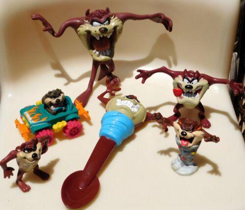 VTG LOT TAZ Tasmanian Devil Figures Looney Tunes Warner Bros