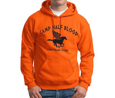 Camp Half Blood Hoodie Percy Jackson Demigods Halloween Costume Sweatshirts](Percy Halloween Costume)