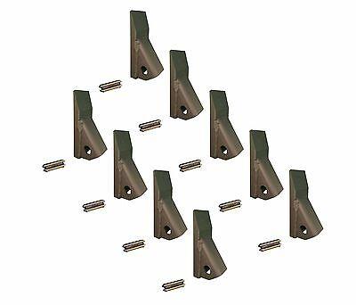 9 - Backhoe Skid Loader Mini Excavator 23 230 Fab Teeth W Pins 230pn