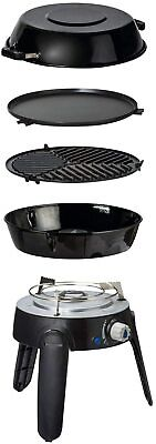 Portable Gas Barbeque Chef2 Lightweight Automatic Push Button Carry Bag Included