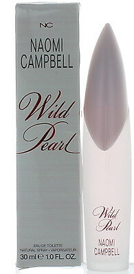Wild Pearl By Naomi Campbell For Women Edt Perfume Spray 1 7 Oz  New In Box