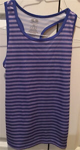 Girls  Striped  Athletic Tanks