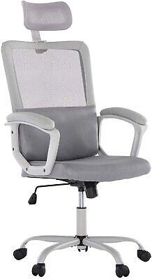 Ergonomic High Back Executive Office Chair Adjustable Computer Desk Mesh Chair
