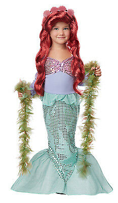 Little Ariel Mermaid Child Princess Toddler Costume