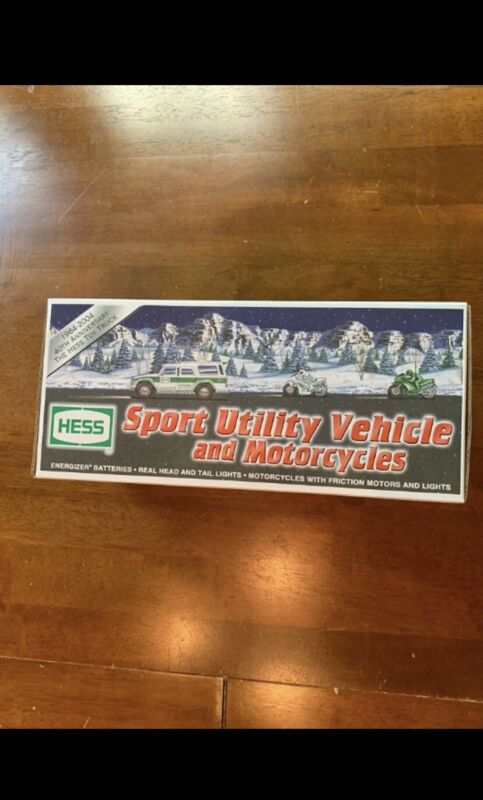 2004 HESS TRUCK SPORT UTILITY VEHICLE AND MOTORCYCLE
