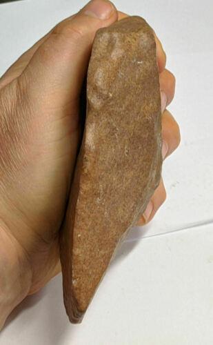 Paleolithic 300,000 Year Old HOMO ERECTUS Man Stone HAND AXE (#M1048)