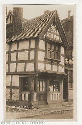 Ye Olde Anchor, High Street Upton on Severn Real Photo Postcard, B503