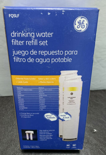 GE FQSVF Drinking Water Replacement Filter System Set Sink F