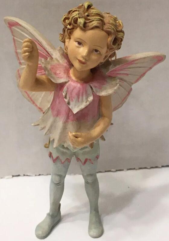 Cicely Mary Barker Flower Fairies Ornament # 86986 Pink Fairy Boy