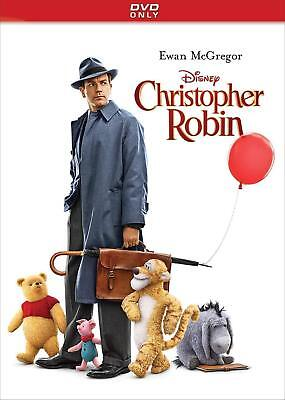 Christopher Robin (DVD 2018) New Sealed! FREE SHIPPING