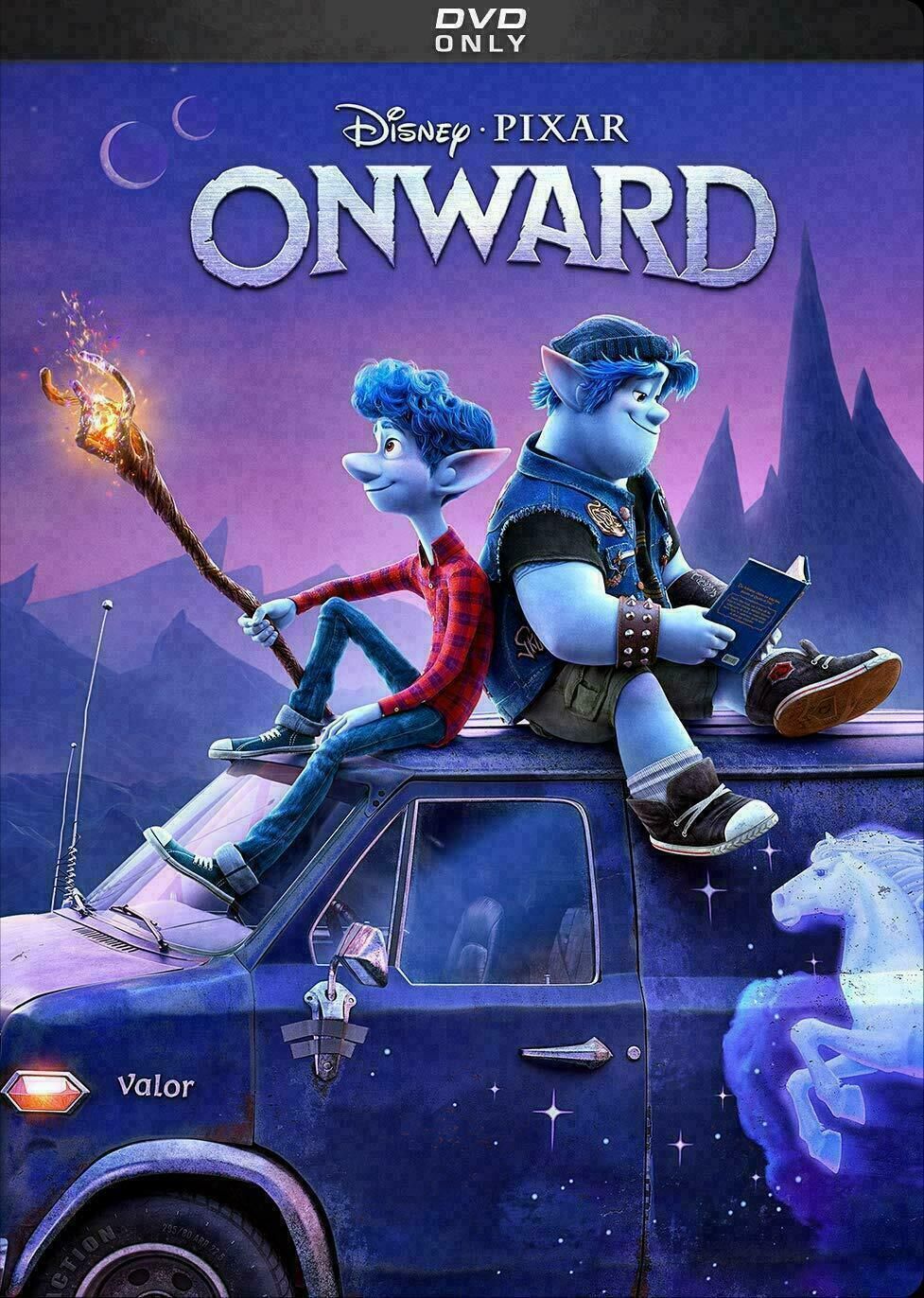 Onward DVD 2020 Brand New! Free Shipping!