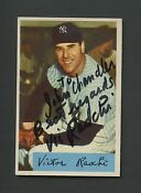 New York Yankees Autographed Baseball Cards