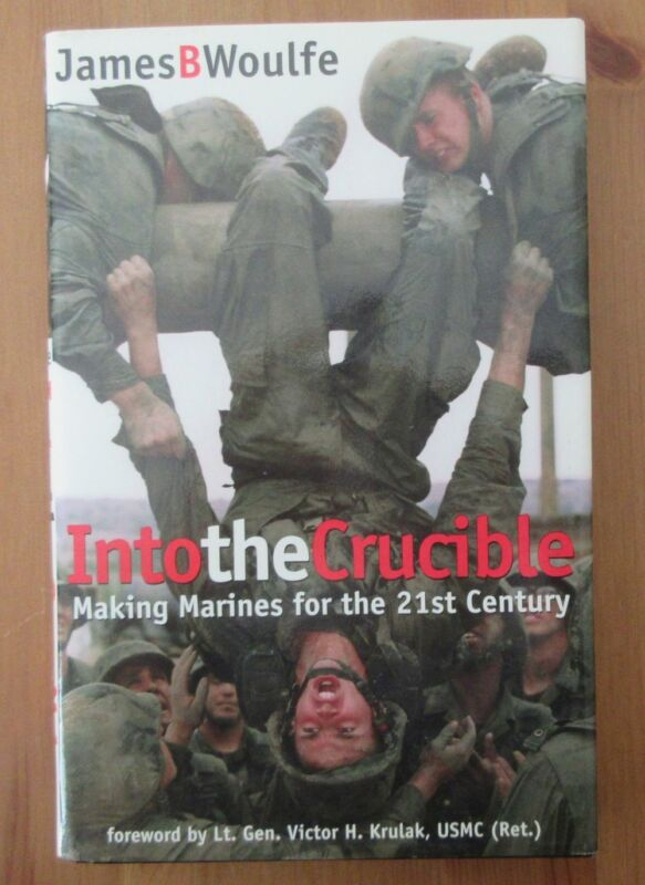 book USMC BOOT CAMP CRUCIBLE woulfe marine corps