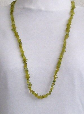 Necklace Jade Stone Olive Green 34 in Collar No Metal Gaynell's Boutique New WOT Olive Jade Necklace