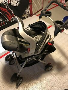 Graco baby seat stroller - Snap and Go
