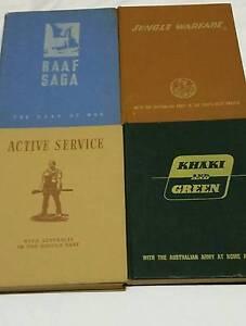 Four Military WW II books Mosman Park Cottesloe Area Preview