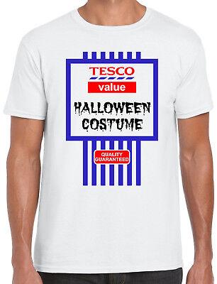 Tesco Value Halloween Costume Spoof Halloween for Men, Women and Kids - Tesco Halloween Costumes Mens