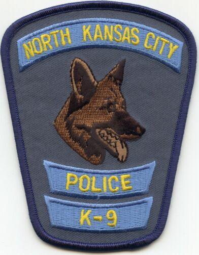 NORTH KANSAS CITY MISSOURI MO K-9 POLICE PATCH