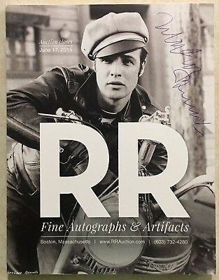 RR AUCTION CATALOG ENTERTAINMENT HISTORICAL POP CULTURE NASA SPACE BRANDO COVER